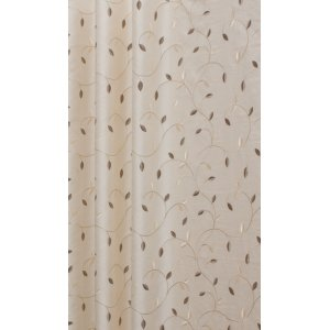 DELAMERE CREAM EMBROIDERED FABRIC METRE PRICE PLEASE PUT THE QUANTITY OF METRES INTO THE BOX
