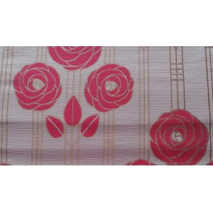 ARCADIA FUSCHSIA FABRIC CHATHAM GLYN PRICE IS PER METRE