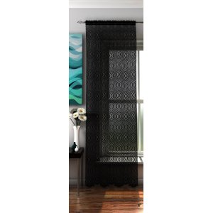 BALI BLACK PANEL 142CM WIDE