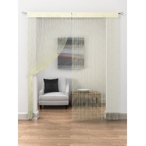 CREAM TWIST STRING CURTAINS PRICE IS PER panel
