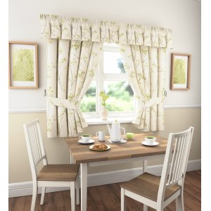 logan window sets colour green valance sold separately