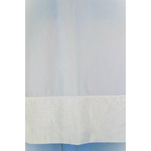 Holly White voile with small insert