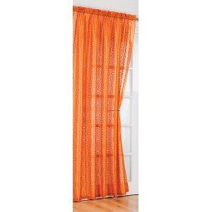 orange drapes solid orange drapes carousel designs