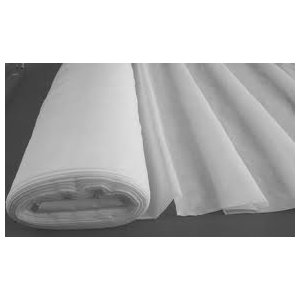 PLAIN WHITE  VOILE  FABRIC 150CM WIDE sold by the metre