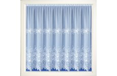 SAMANTHA WHITE VOILE CURTAIN