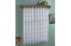 ROSE LACE VERTICAL PLEATED BLIND 183cm wide