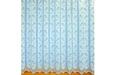 EMILY WHITE  NET CURTAIN: priced per metre