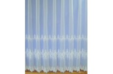 ANTONIA WHITE VOILE CURTAIN PRICED PER METRE
