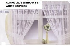 RONDA LACE WINDOW SET