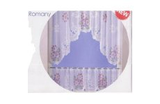 ROMANY LACE CURTAIN SET 150CM WIDE