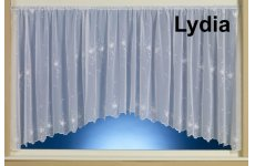 LYDIA WHITE  EMBROIDERED VOILE FROM OUR PRINCES KATE RANGE