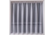 HUDSON WHITE NET CURTAIN