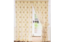 TIFFANY TAFFETA LINED CURTAINS