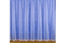 CHARLIE WHITE NET CURTAIN: priced per metre