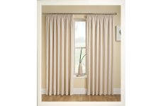 TRANQUILITY CREAM CURTAINS THERMAL BACKED
