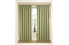 TRANQUILITY GREEN THERMAL CURTAINS