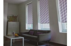 TETRA TOXIC (COLOUR CHARCOAL & SLATE) ROLLER BLIND