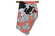 COW TEA TOWEL BY LESLIE GERRY