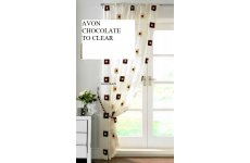 AVON CHOCOLATE MUSLIN PANELS PRICE EACH