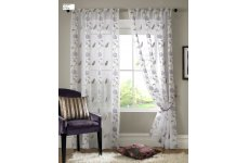 LILAC BUTTERFLY EMBROIDERED PANELS PRICE IS PER PANEL