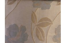ELLINGTON POWDER BLUE & CREAM FABRIC SOLD BY THE METRE