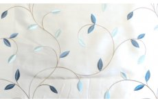 DELAMERE AZURE FABRIC SOLD BY THE METRE