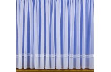 SYLVIE VOILE  NET CURTAIN: priced per metre