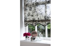 CHARLESTON BLACK ROLLER BLIND CONTACT US FOR PRICE