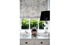 OPHELIA PEWTER ROLLER BLIND CONTACT US FOR PRICE