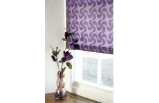 WHIRLWIND MAUVE ROLLER BLIND CONTACT US FOR PRICE