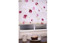 ROSEBUD PINK ROLLER BLIND CONTACT US FOR PRICE