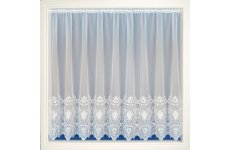 AMY WHITE EMBROIDERED VOILE