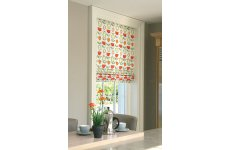 ROMAN BLIND ORCHARD FRUITS CITRUS MADE TO YOUR EXACT SIZE PLEASE EMAIL OR PHONE FOR PRICE