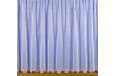 ANNABELLE WHITE  NET CURTAIN: priced per metre