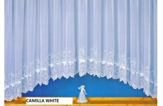 CAMILLA WHITE EMBROIDERED VOILE JARDINIERE ALSO COMES IN STRAIGHT