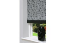 GINGER LIQUORICE ROLLER BLIND  PLEASE RING OR EMAIL FOR PRICE