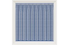 London, white contemporary net curtain