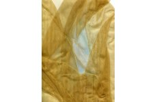 Organza Gold sheer fabric 150cm wide price is per metre