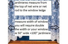Jardiniere measuring guide