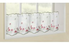 HARROGATE VOILE CAFE CURTAIN PANELS