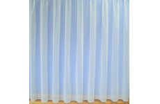 Brooke white net curtain