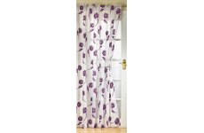 SICILY WHITE PLUM WITH  RED FLOCKED FLOWERS