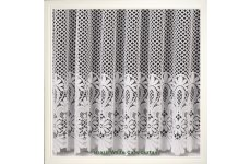 BRAZIL WHITE CAFE CURTAIN