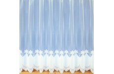 OLIVIA NET CURTAIN: priced per metre