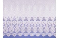 AMERSHAM WHITE NET CURTAINS: priced per metre