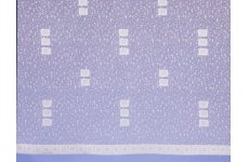 ALTO WHITE NET CURTAIN:PRICED PER METRE