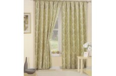GOSFORD GREEN CURTAINS: priced per pair