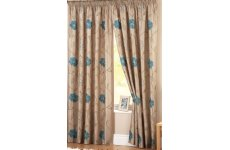 PEONY  LINED CURTAINS:priced per pair