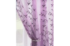 ENCHANTED AMETHYST: last one 90 inch drop x 54