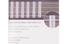 TRANSPARENT 3INCH TAPE:price per metre
